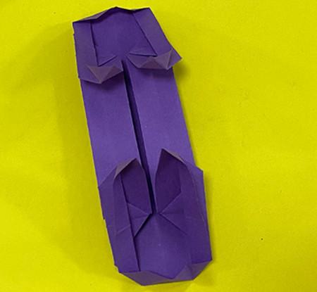 折纸滑板车图解 手工折纸-第13张