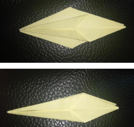 手工折纸小燕子步骤图解 手工折纸-第5张