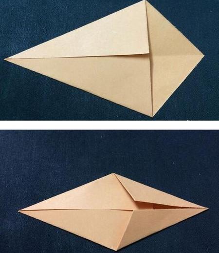 手工折纸鲤鱼步骤图解 手工折纸-第3张