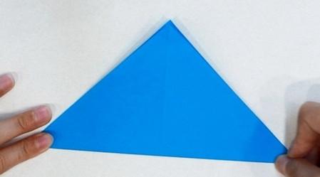 折纸热带鱼步骤图 手工折纸-第3张