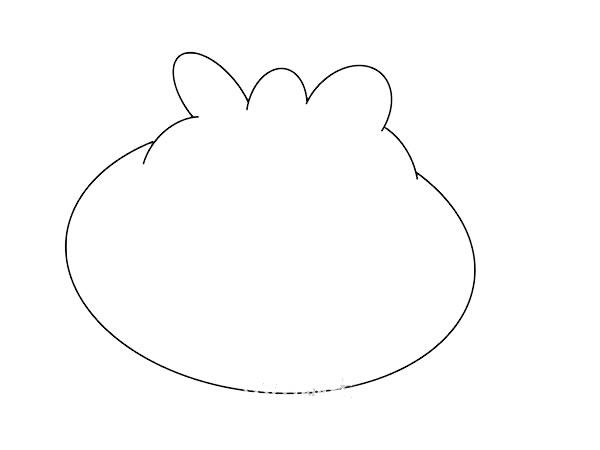 卡通包子简笔画画法步骤图片