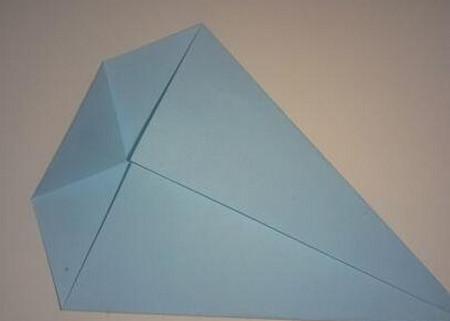 鲸鱼折纸步骤图 手工折纸-第4张