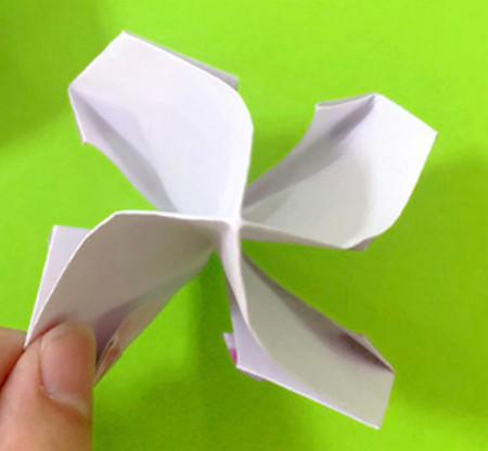 冰淇淋折纸步骤图解法 手工折纸-第12张