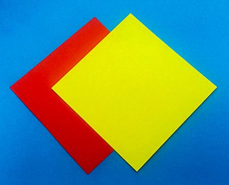 立体无限翻转手工折纸图解 手工折纸-第2张