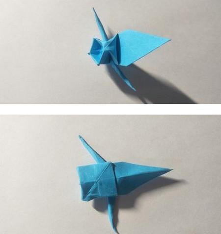 儿童手工锦鲤折纸图解 手工折纸-第11张