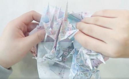 手工折纸旋转木马教程图解 手工折纸-第19张