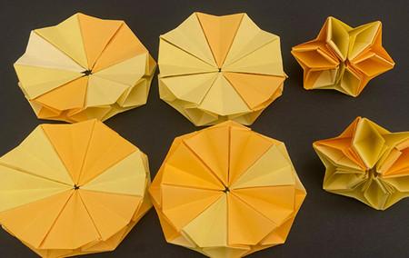 菠萝手工折纸方法图解 手工折纸-第14张