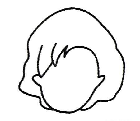 妈妈头像简笔画图片 人物-第4张