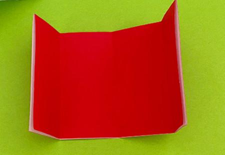 帐篷折纸方法图解 手工折纸-第4张