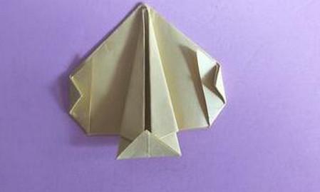 桃心折纸步骤图解 手工折纸-第10张