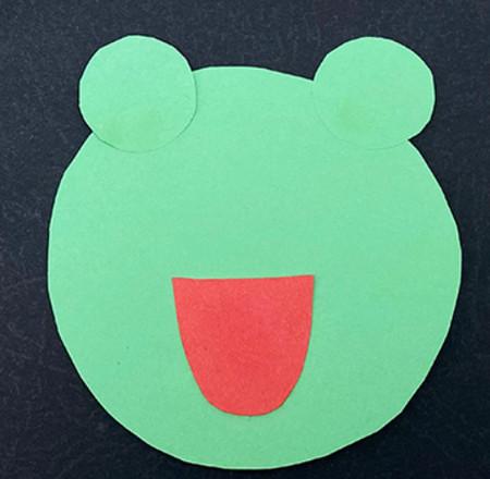 会跳的青蛙手工折纸图解步骤 手工折纸-第4张