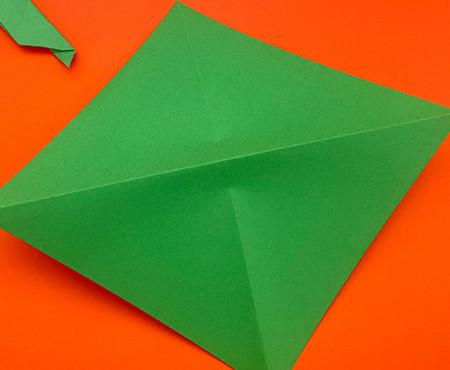 回力标折纸教程图解 手工折纸-第2张