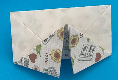 皇冠帽子折纸步骤图解 手工折纸-第9张