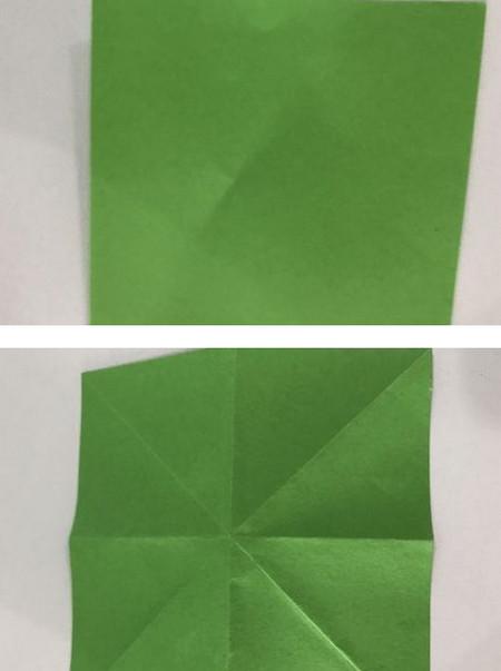 折纸康乃馨的步骤图 手工折纸-第10张
