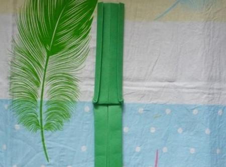 滑滑梯折纸步骤图 手工折纸-第10张