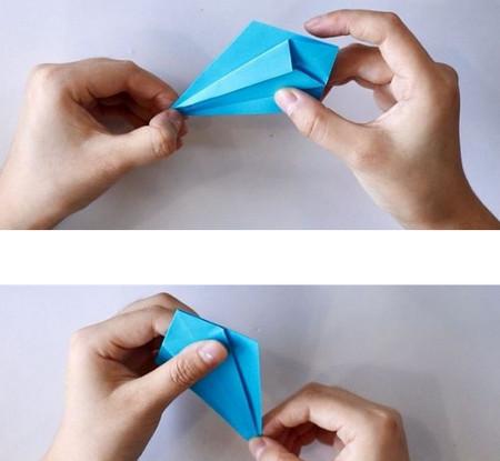 手工折纸蜘蛛图解步骤 手工折纸-第6张