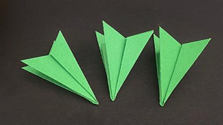 菠萝手工折纸方法图解 手工折纸-第22张