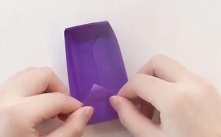 手工折纸文具盒步骤图 手工折纸-第10张