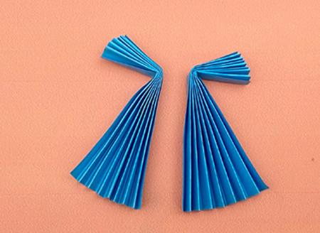 手工折纸礼服裙子步骤图解 手工折纸-第5张