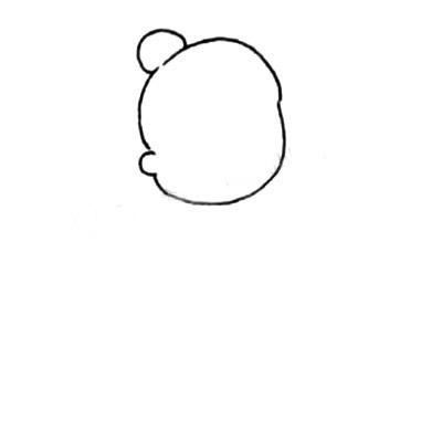 老奶奶简笔画画法 中级简笔画教程-第2张