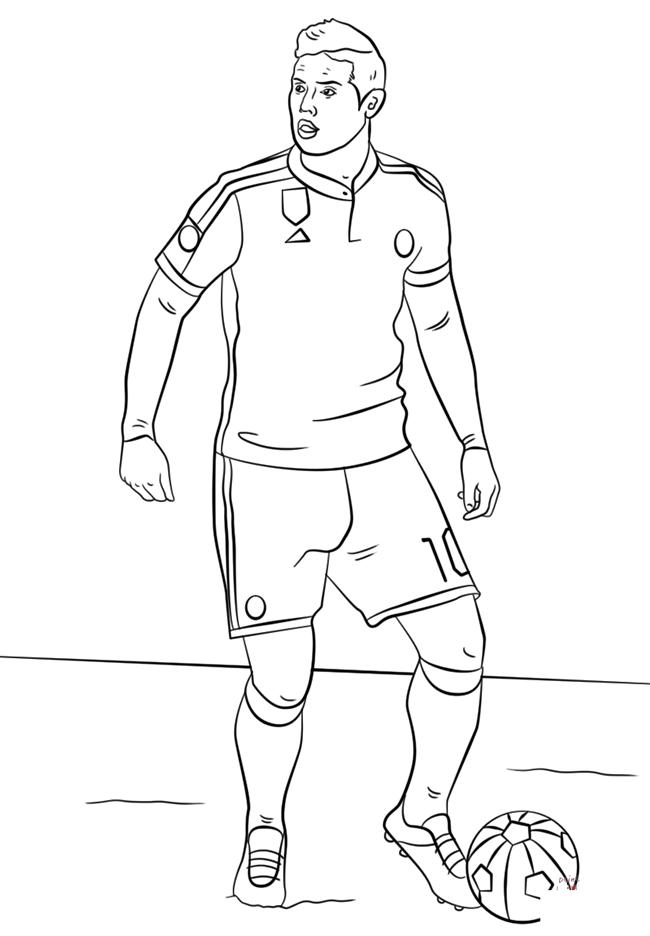 足球运动员简笔画图片 人物-第5张