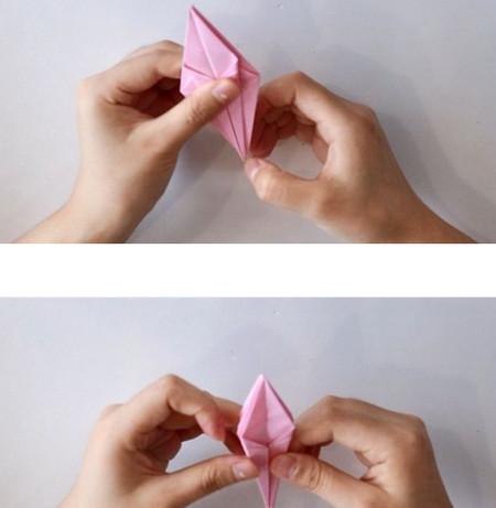 手工折纸立体章鱼怎么折图解 手工折纸-第5张