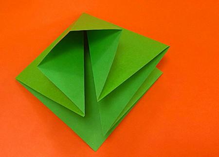 降落伞折纸方法图片大全 手工折纸-第5张