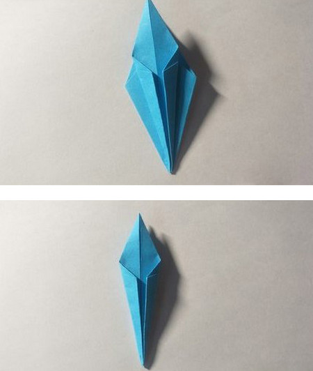 儿童手工锦鲤折纸图解 手工折纸-第6张