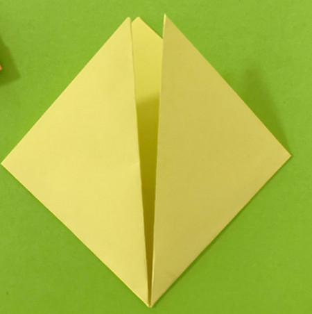 愤怒的小手工折纸步骤图 手工折纸-第4张