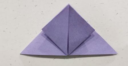 郁金香手工折步骤图解 手工折纸-第5张