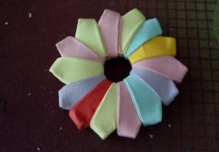 棒棒糖手工折纸步骤图解法 手工折纸-第11张