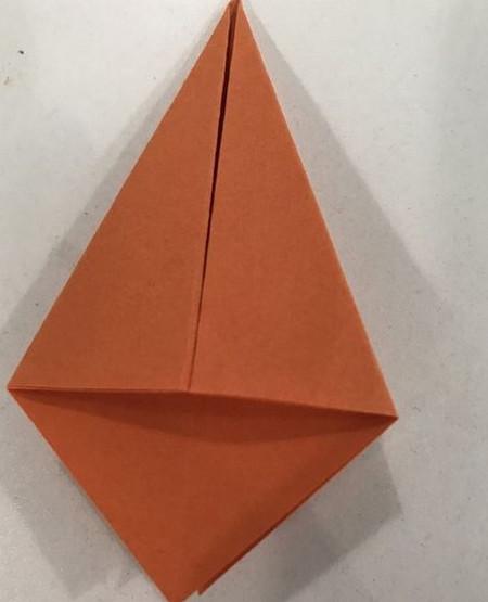 折纸康乃馨的步骤图 手工折纸-第4张