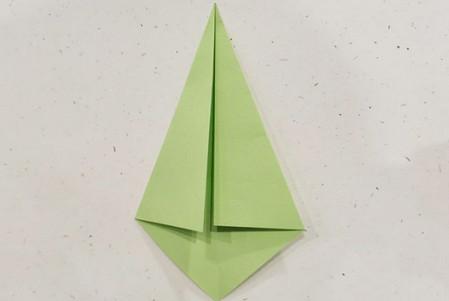 郁金香手工折步骤图解 手工折纸-第15张