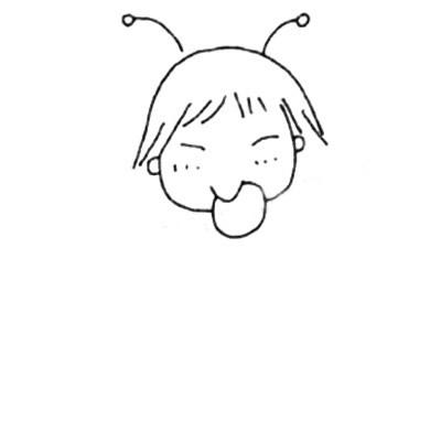 小学生儿童简笔画图片 中级简笔画教程-第3张