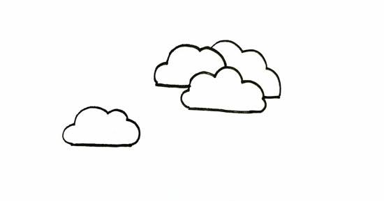 简单易学的松柏树画法步骤 中级简笔画教程-第2张