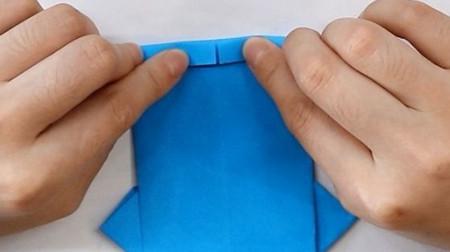 衬衫手工折纸步骤图解 手工折纸-第7张