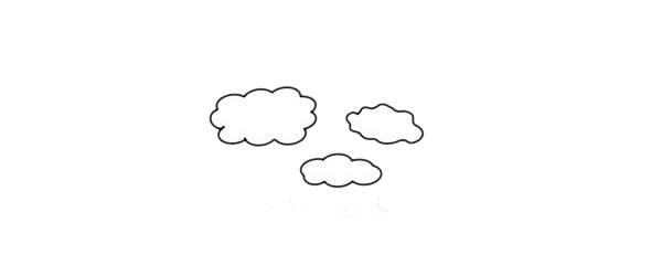 彩色柞树简笔画的画法步骤教程 中级简笔画教程-第2张