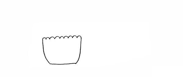 两盆漂亮的盆栽简笔画彩色画法步骤图教程 植物-第3张