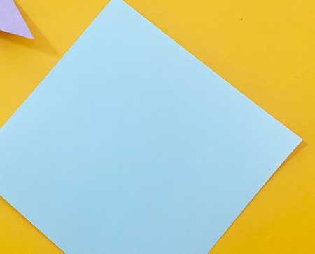 简单手工折纸小狗的步骤图解 手工折纸-第2张