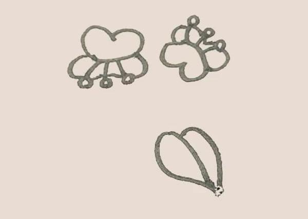 蝴蝶兰花朵简笔画的画法 中级简笔画教程-第7张