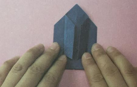 火箭折纸步骤图解 手工折纸-第5张