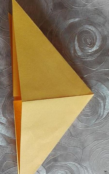 正方形纸盒子的折法步骤 手工折纸-第7张