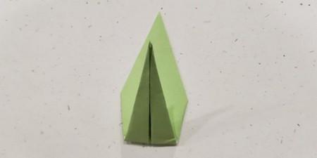 郁金香手工折步骤图解 手工折纸-第19张