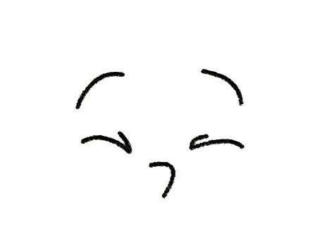 人物表情简笔画的画法步骤 人物-第3张
