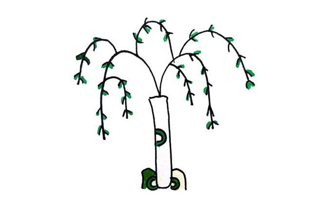 创意树木简笔画图画大全 植物-第1张