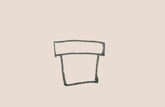 虎皮兰简笔画,盆栽简笔画画法 中级简笔画教程-第3张
