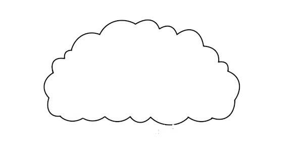 简单漂亮的大树简笔画图片 初级简笔画教程-第2张
