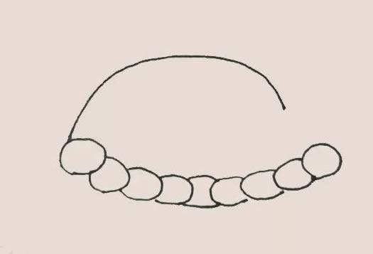 火鸡大餐简笔画