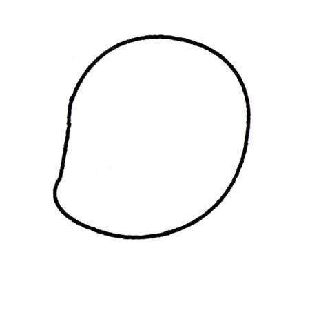 小红帽儿童简笔画画法 人物-第2张