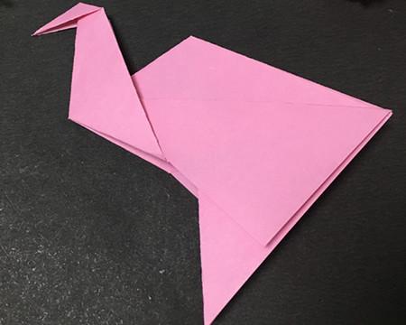 儿童手工折纸步骤图解法 手工折纸-第8张